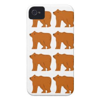 Teddies designs on white Case-Mate iPhone 4 case