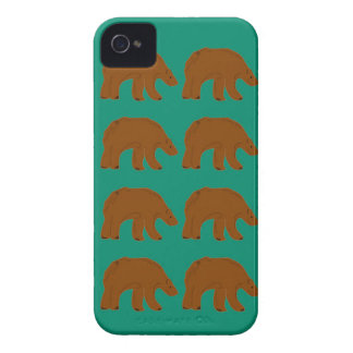 Teddies on Mint edition iPhone 4 Case