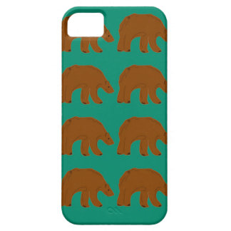 Teddies on Mint edition iPhone 5 Cover