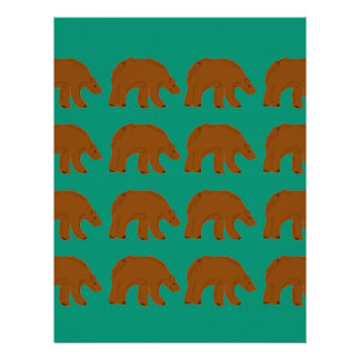 Teddies on Mint edition Letterhead