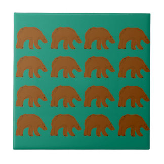 Teddies on Mint edition Tile