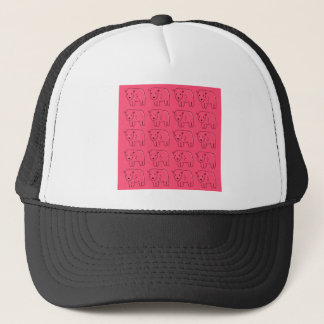 Teddies painted Pink sweet Design Trucker Hat