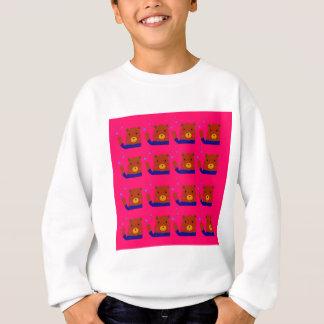 Teddies pink design sweatshirt