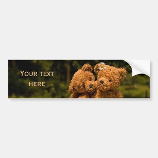 Teddy 01 car bumper sticker