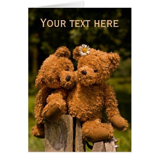 Teddy 01 greeting cards