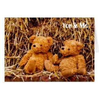 Teddy 02 greeting card