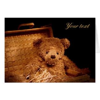 Teddy 06 greeting card