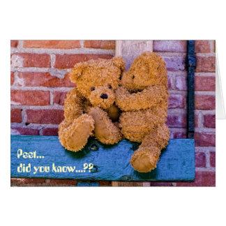 Teddy 07 card