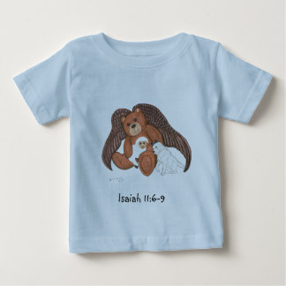 Teddy Angel Baby T-Shirt