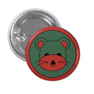 Teddy Bear 1 Inch Round Button