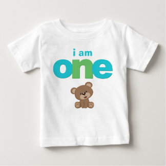 Teddy Bear 1st Birthday T-shirt Toddler Baby Kid
