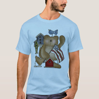 Teddy Bear 4th of July T-shirts