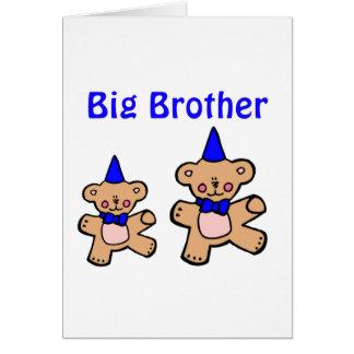 teddy bear big brother card