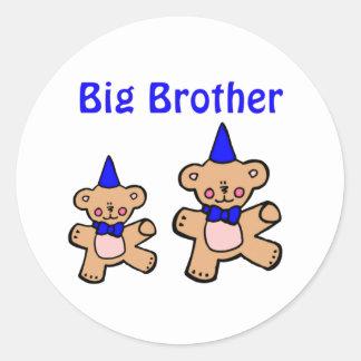 teddy bear big brother stickers