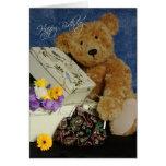 Teddy Bear Birthday Card