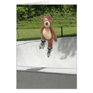 Teddy Bear Blank Card