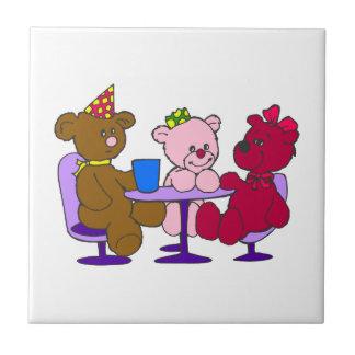 Teddy Bear Cafe Tile