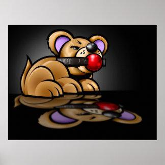 Teddy Bear Canvas Poster