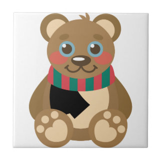 Teddy Bear Ceramic Tile
