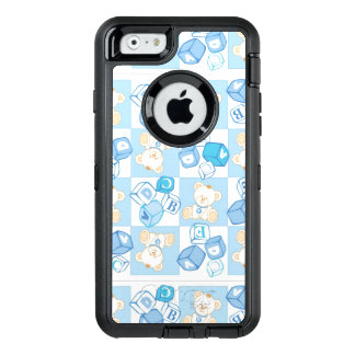 Teddy bear checked pattern OtterBox iPhone 6/6s case