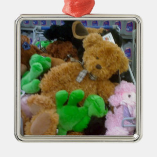 **TEDDY BEAR** CHRISTMAS ORNAMENT