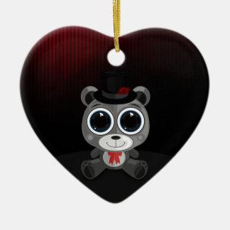 Teddy Bear - Classy Grey Ornament