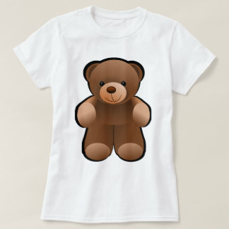 Teddy Bear Design T-Shirt