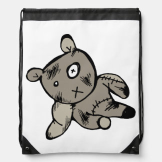 Teddy Bear Drawstring Bags