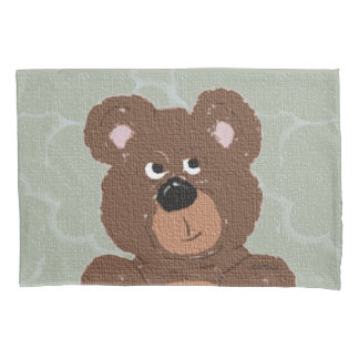 Teddy Bear Face Pillowcase