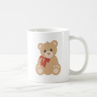 """Teddy Bear"" for Boys Classic White Coffee Mug"