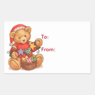 Teddy Bear - Gift Tags