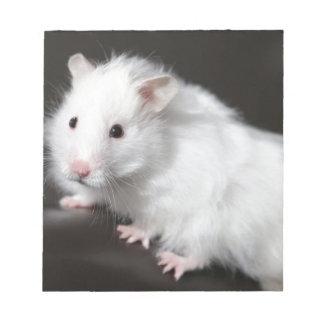 Teddy Bear Hamster Notepad