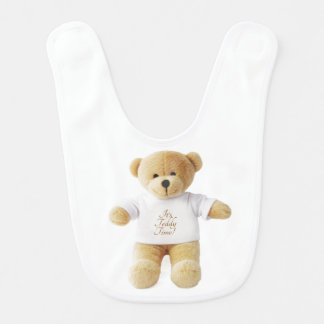 Teddy Bear image for Baby Bib