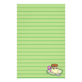Teddy Bear in Tea Cup Stationery