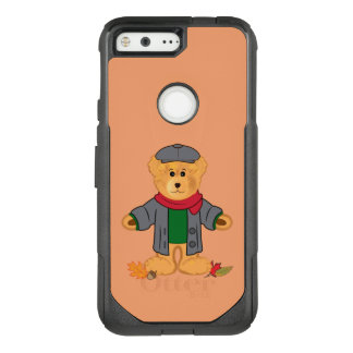 Teddy Bear in the Fall Leaves OtterBox Commuter Google Pixel Case