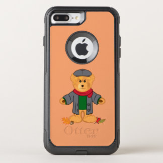 Teddy Bear in the Fall Leaves OtterBox Commuter iPhone 8 Plus/7 Plus Case