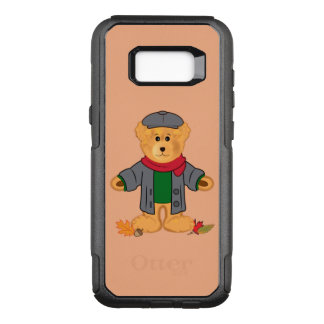 Teddy Bear in the Fall Leaves OtterBox Commuter Samsung Galaxy S8+ Case
