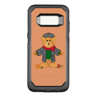 Teddy Bear in the Fall Leaves OtterBox Commuter Samsung Galaxy S8 Case