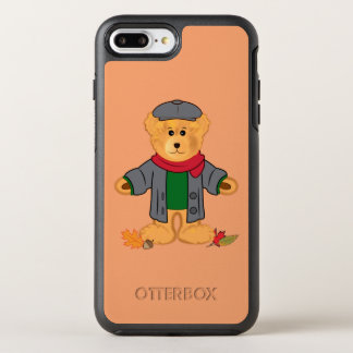 Teddy Bear in the Fall Leaves OtterBox Symmetry iPhone 8 Plus/7 Plus Case