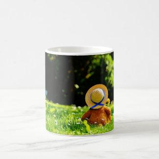 Teddy Bear in Thought Coffee Mug