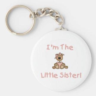 Teddy Bear Little Sister Keychain