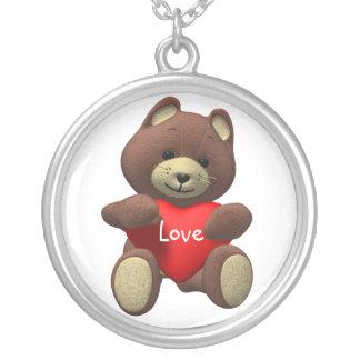 Teddy Bear Love Necklace