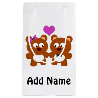 Teddy Bear Love Small Gift Bag