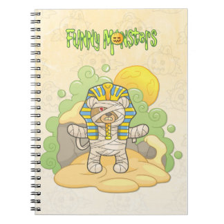 Teddy bear mummy notebooks