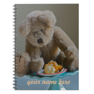 Teddy Bear notebook