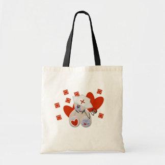 Teddy Bear Nurse Love Tshirts and Gifts Tote Bag