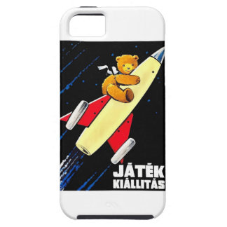 Teddy Bear On A Rocket Vintage Hungarian Toy Fair iPhone 5 Case