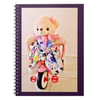Teddy Bear on a Tricycle Notebook