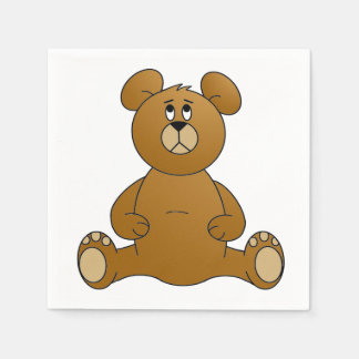 Teddy Bear Paper Napkin
