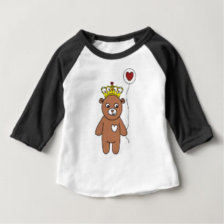 teddy bear queen baby T-Shirt